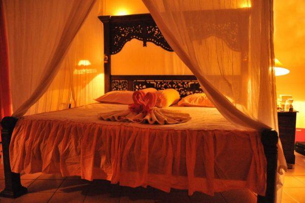 Schlafzimmer im Resort