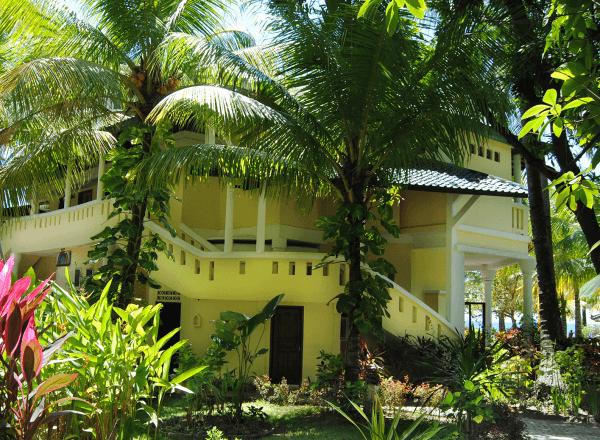Unterkunft auf Bali